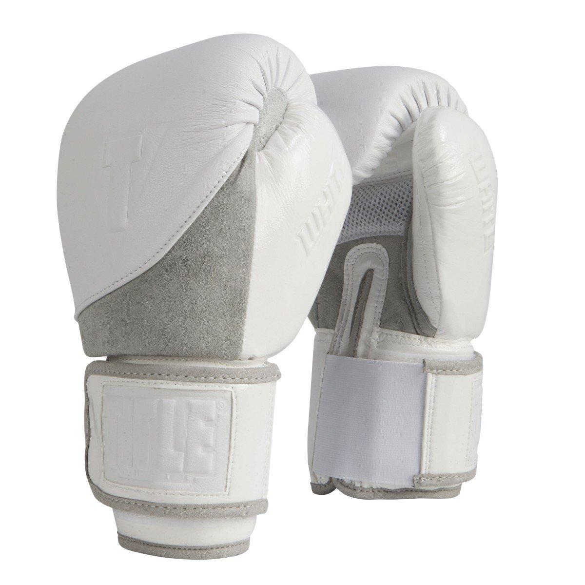 タイトルホワイトボクシンググローブ  16 oz