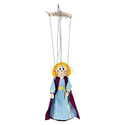 ABA 20cm en bois tissu Princes Marionnette Jouet (Multicolore)