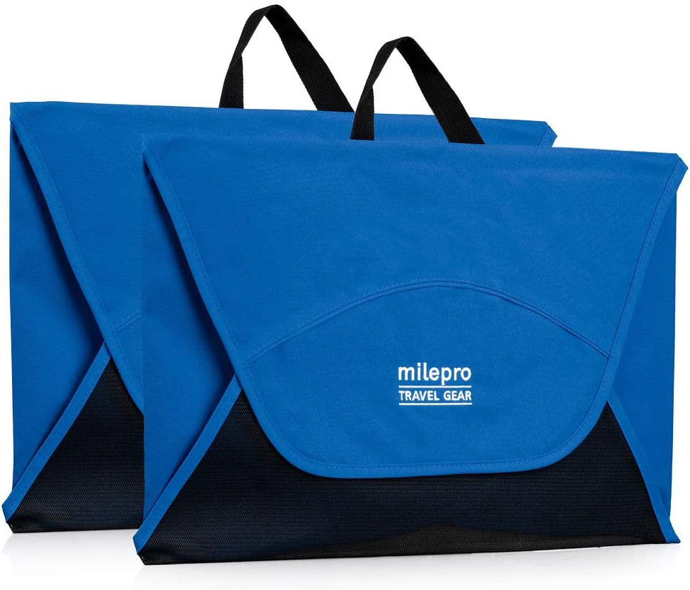 Wrinkle-Free 18 Inch Garment Folder Travel Packing Folders by milepro Includes Folding Board with Packing Instructions