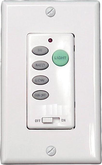 Litex wci-100 pared mando universal Ventilador de techo control, tres velocidades y gama completa regulador de intensidad por Ellington: Amazon.es: Bricolaje y herramientas