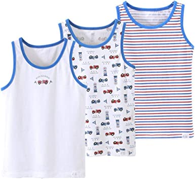 QPM Girls Boys Tanks Tops Girls Cotton Camisoles Vests boy Candy Color  Undershirt Kids Underwear Tanks Camisoles,as Photo,8: Amazon.co.uk: Clothing