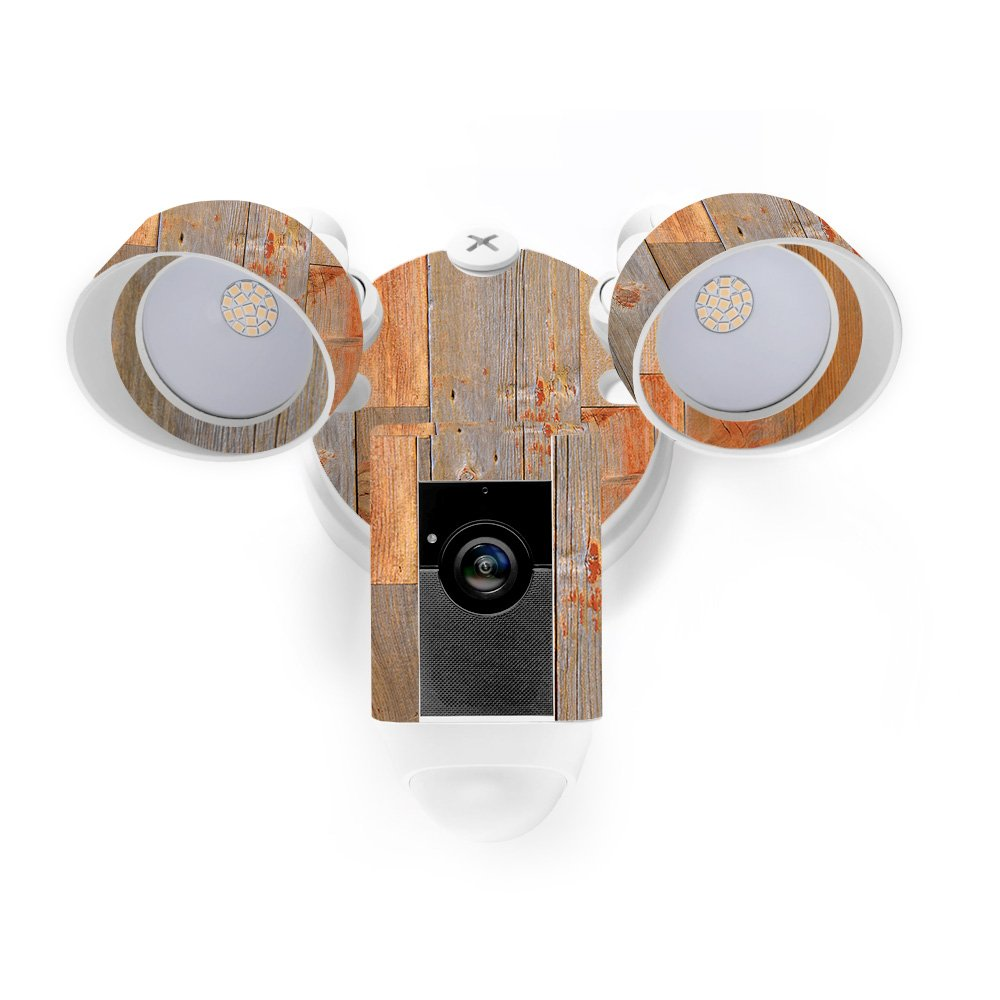 MightySkins Skin for Ring Floodlight Cam - Barnwood Protective, Durable, and Unique Vinyl Decal wrap Cover | Easy to Apply, Remove, and Change Styles | Made in The USA