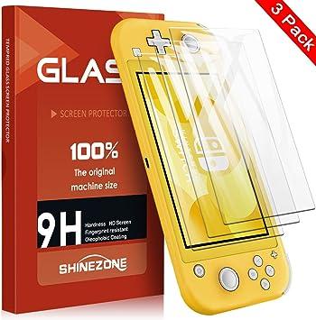 SHINEZONE Película Protectora de Vidrio Templado para Nintendo ...