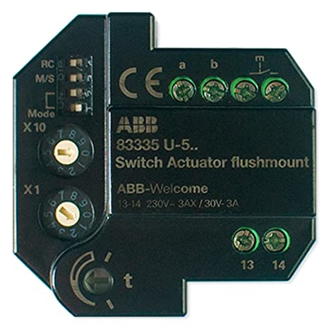 Amazon.com: abb-welcome Switch actuador (M2305): Electronics