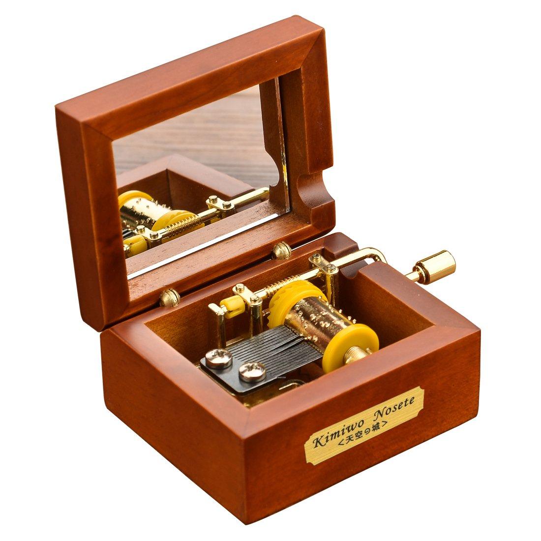 【予約販売品】 Youtang ( TM TM ) Miniサイズクリエイティブ木製18-note hand-crankmusicalボックス B01N2R53VC、ミュージカルおもちゃ、Tune : Are You Are My Sunshine B01N2R53VC, ナチュラルショップ ライサ:1da5c662 --- garagegrands.com