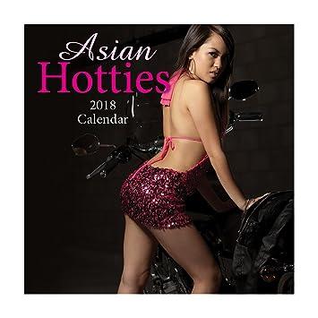 2018 Asian Hotties Calendar  Wall Calendar With 210 Calendar Stickers