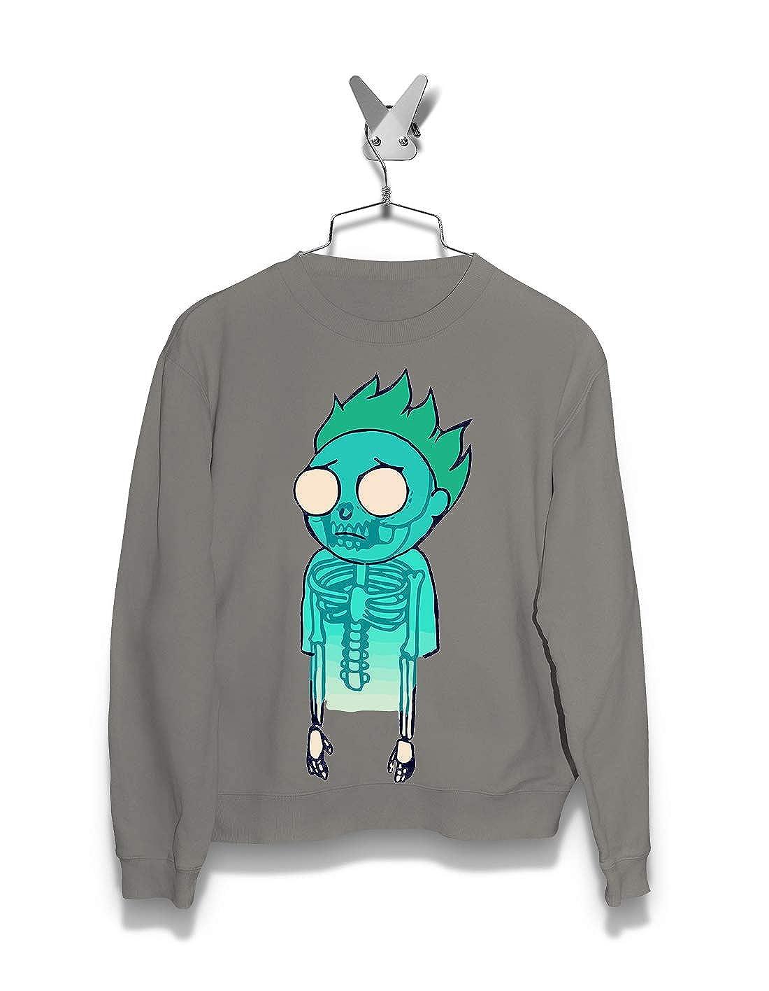 Netflix Mortys Spirit Streetwear Art Morty Rick Cartoon Men Sweatshirts