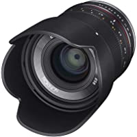 Rokinon RK21M-E 21mm F1.4 ED AS UMC High Speed Wide Angle Lens for Sony (Black)
