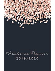 2019-2020 Academic Planner: Planners and Organizers for Women 2019 July - 2020 July | The Daily, Weekly and Monthly Planner for Students 2019 and 2020 ... Planner, Student Planner and Schedule Agenda