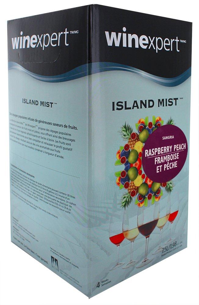 Raspberry Peach Sangria Kit (Island Mist) by Southern Homebrew (Image #2)