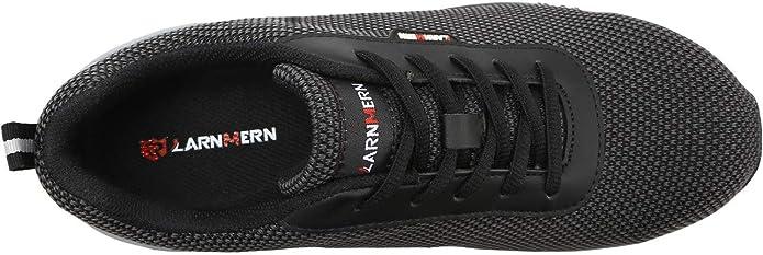 Zapatos de Seguridad Hombres, LM-027 Zapatillas de Trabajo con Punta de Acero Ultra Liviano Reflectivo Transpirable (43,Azul): Amazon.es: Zapatos y ...