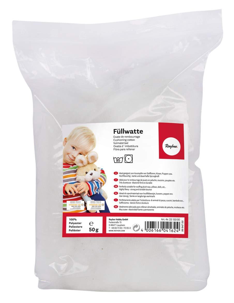 Rayher - Relleno de algodón, 50 g: Amazon.es: Hogar
