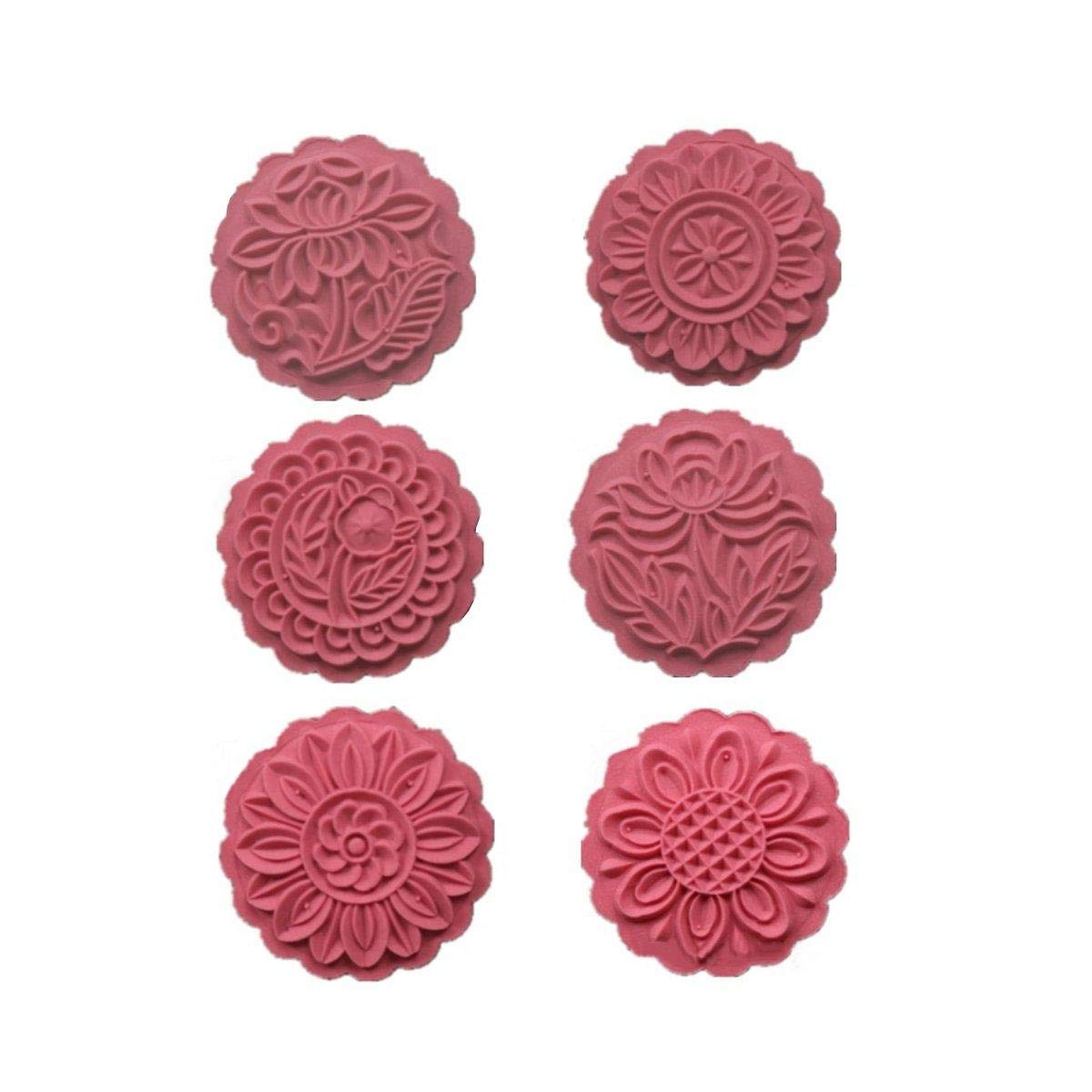Moon Cake Mold Cookie Pastry Decoration Traditional Biscuit Goldfish - 1PCs