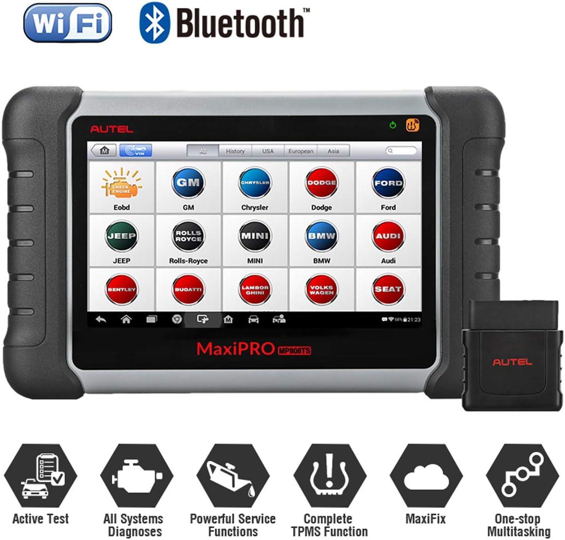 Autel Maxipro Mp808ts Diagnosegerät Für Fahrzeuge Mit Tpms Funktion Und Bluetooth Auto