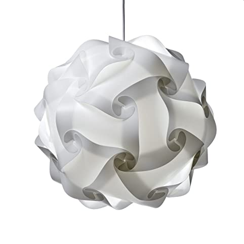 Xl ceiling lamp shade white modern pendant jigsaw lighting size xl ceiling lamp shade white modern pendant jigsaw lighting size xl flatpack 35 mozeypictures Image collections
