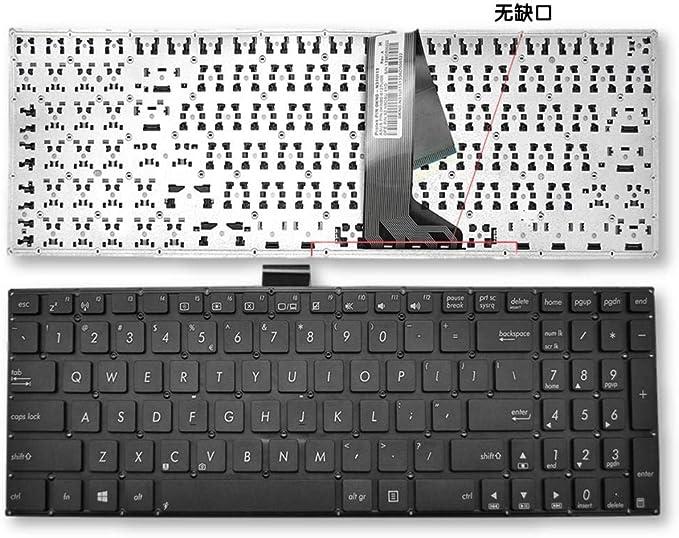 H HILABEE Keyboard Teclado Pieza de Reparación para ASUS ...