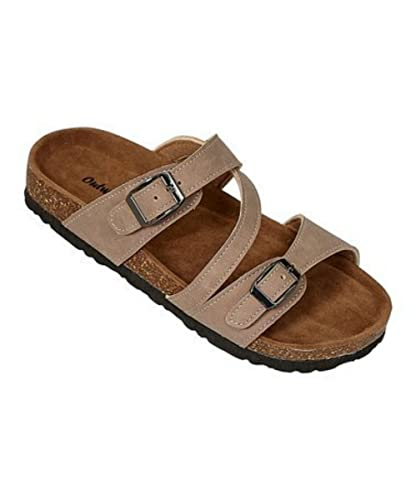 96bb906bc2812 Amazon.com | OUTWOODS Kids Bork-57 Sandal Taupe | Sandals