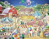 County Fair Jigsaw Puzzle 1000 Piece