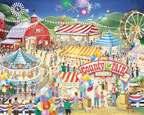 Vermont Christmas Company County Fair Jigsaw Puzzle 1000 Piece