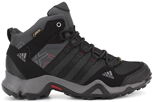 wholesale dealer 36fda 9e786 adidas AX2 Mid GoreTex Mens Hiking Shoe 14 Shale-Black-Scarlet