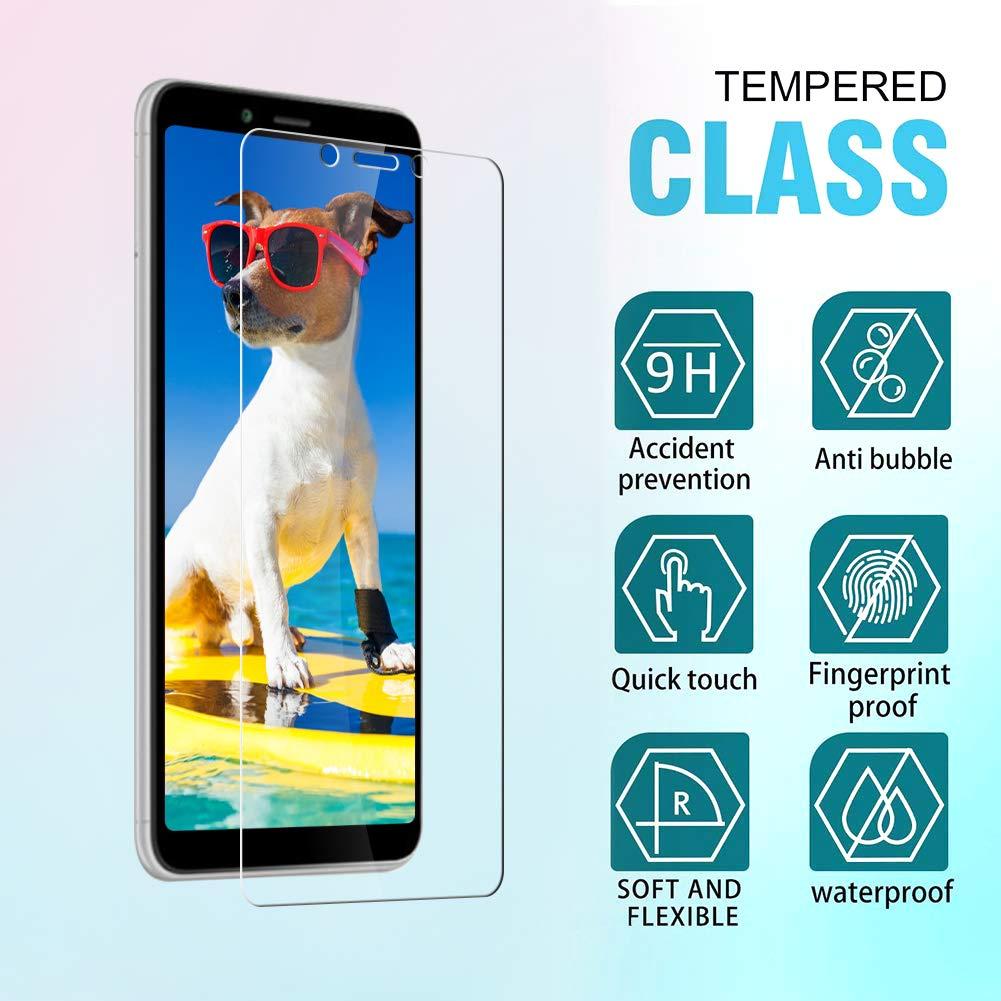 Cristal Templado Xiaomi Pocophone F1 Alta Definicion, Sin Burbujas, Cobertura Completa, 9H Dureza, Anti-Rasgu/ños Flysee Protector de Pantalla para Xiaomi Pocophone F1, 3-Unidades