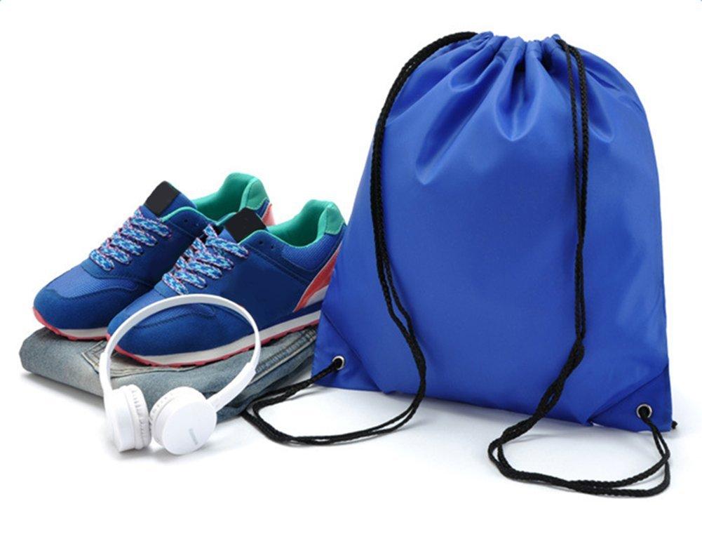 Yonger Drawstring Bag Pack Oxford cloth Folding Travel Sport Storage Drawstring Backpack Sack Bag Tote Bags by Yonger (Image #6)