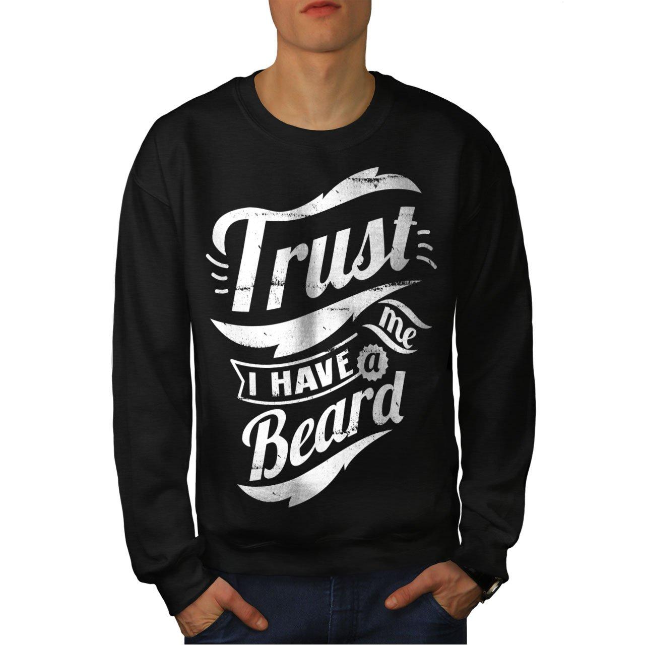 Epic Casual Jumper wellcoda Trust Me Beard Vintage Mens Sweatshirt