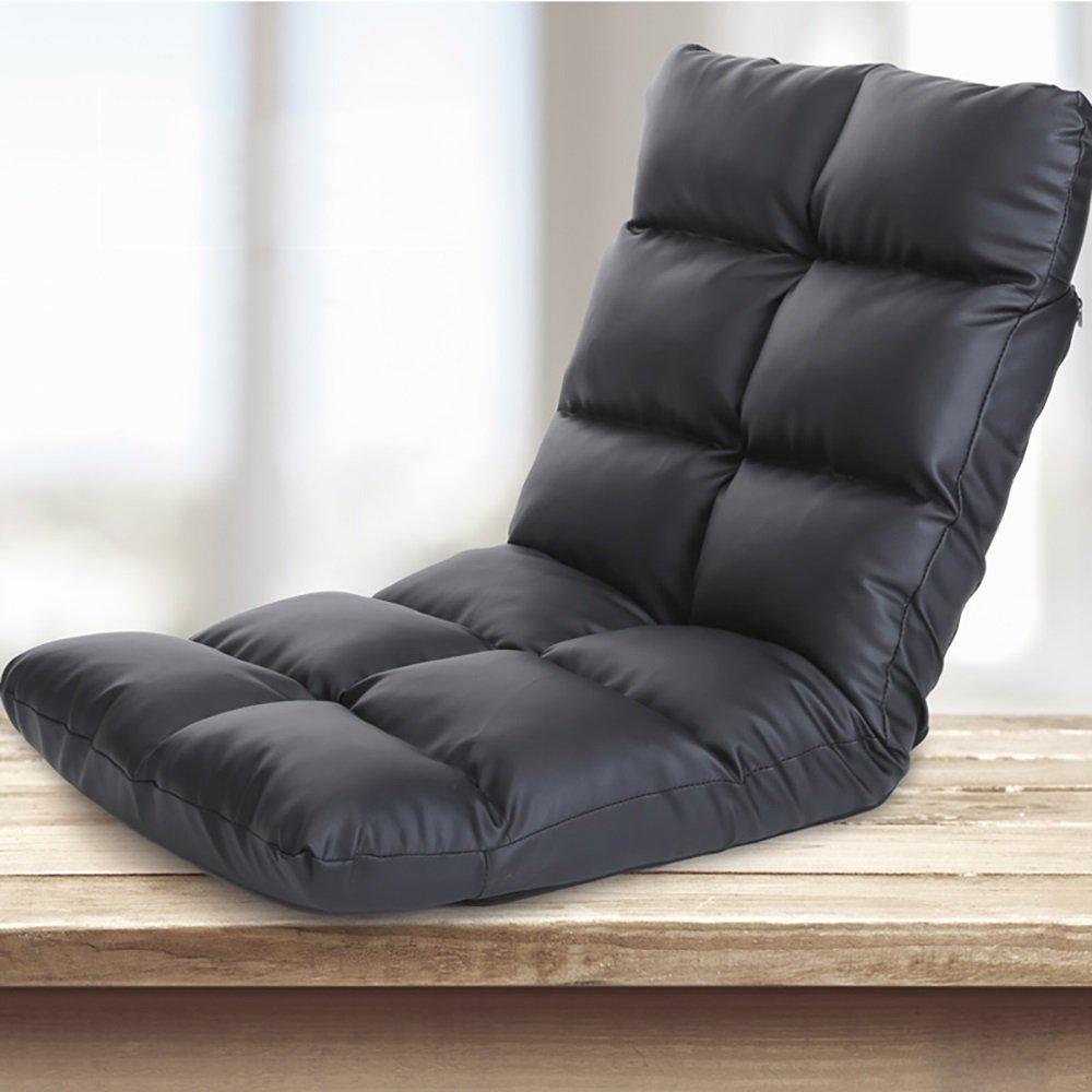 SF Faules Sofa Faul Sofa Einzel Faltbare Bett Rückenlehne Stuhl Boden Balkon Sofa Stuhl Moderne Einfachheit 115  58 cm (Farbe   4 ) 1