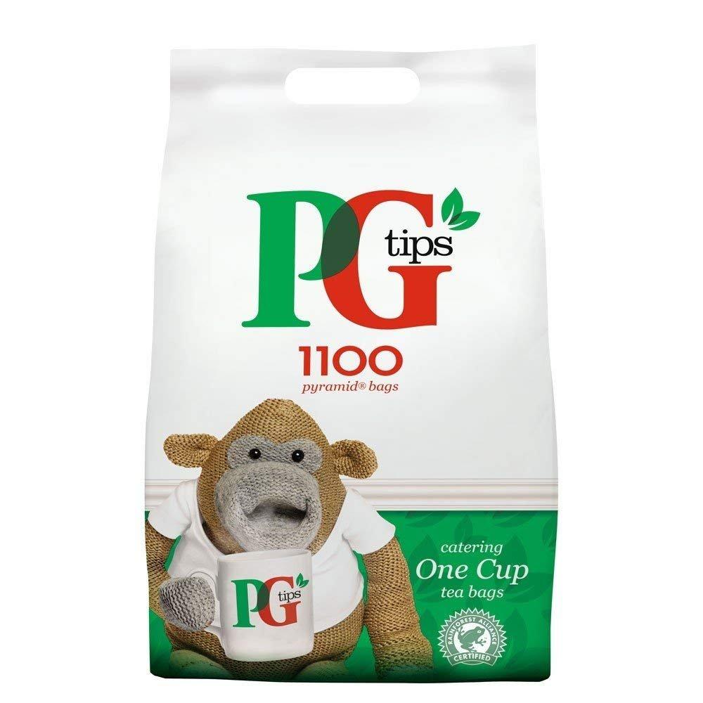PG TIPS PYRAMID TEA BAGS PK1150