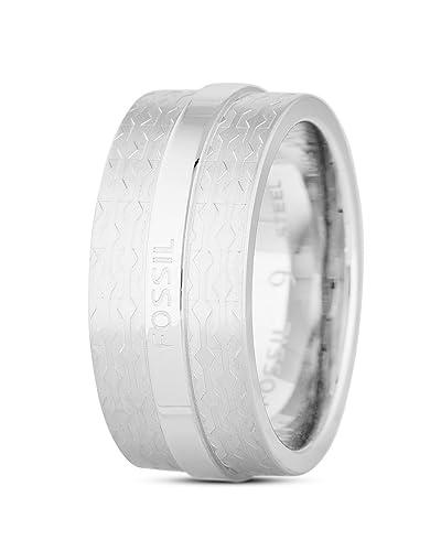 af1ba9e189 FOSSIL Ring Pool Side aus Edelstahl-66: Amazon.de: Schmuck