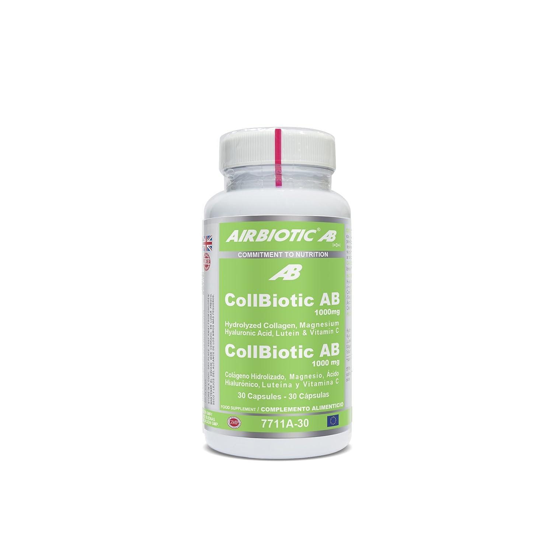 Airbiotic AB - Collbiotic AB 1.000 mg Complex - Multinutrientes, Antiaging, Articulaciones - 30 cápsulas: Amazon.es: Salud y cuidado personal