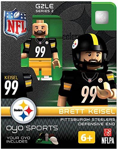 NFL Pittsburgh Steelers NFL Generation 2 Series 2 Minifigure Brett Keisel OYO