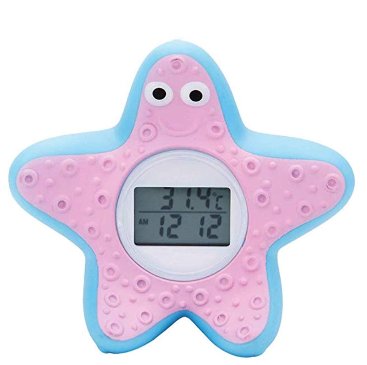 Baby Bath Thermometer, Floating Safety Temperature Thermometer - Health Bath Floating Toy- Temperature Alarm