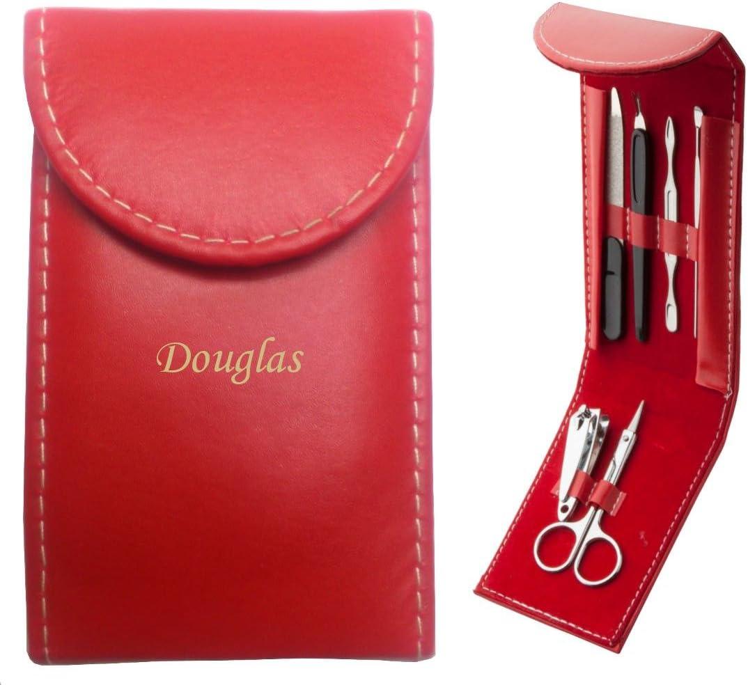 Cliente Índice Pez graviertes Set de manicura con nombres Douglas (vorname/zuname/apodo): Amazon.es: Belleza