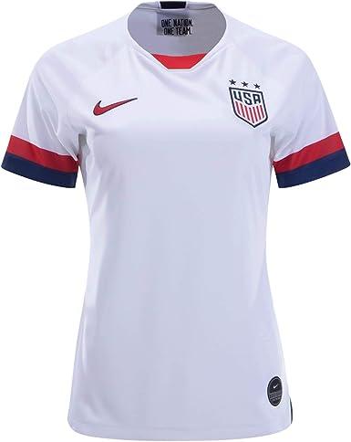 Amazon.com: Nike U.S.Stadium Home FIFA Women's Soccer Jersey World ...