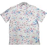 (スタイルド バイ オリジナルズ)Styled by Originals 舞桜 花柄 半袖 和柄 レーヨン100% アロハシャツ