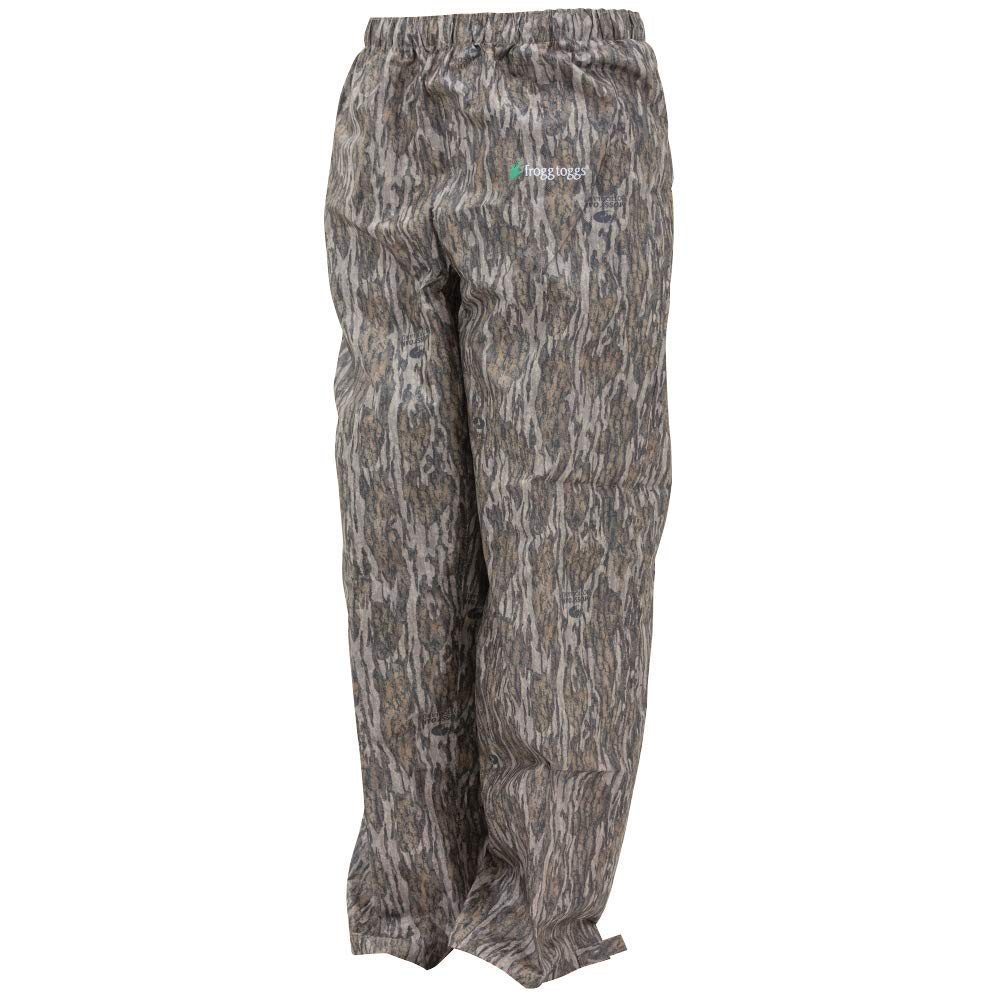 f30314712ae33 Frogg Toggs Pro Action Rain Pant, Mossy Oak Bottomland, Size Medium Pro  Action Rain Pant, Mossy Oak Bottomland, Medium