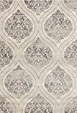 Rugshop Transitional Floral Damask Area Rug, 5' x - Best Reviews Guide