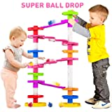 Super Ball Drop Toy, Extra Large Size Activity Tower with Ball Ramp Bridge for Educational and Fun Activity for Toddlers…