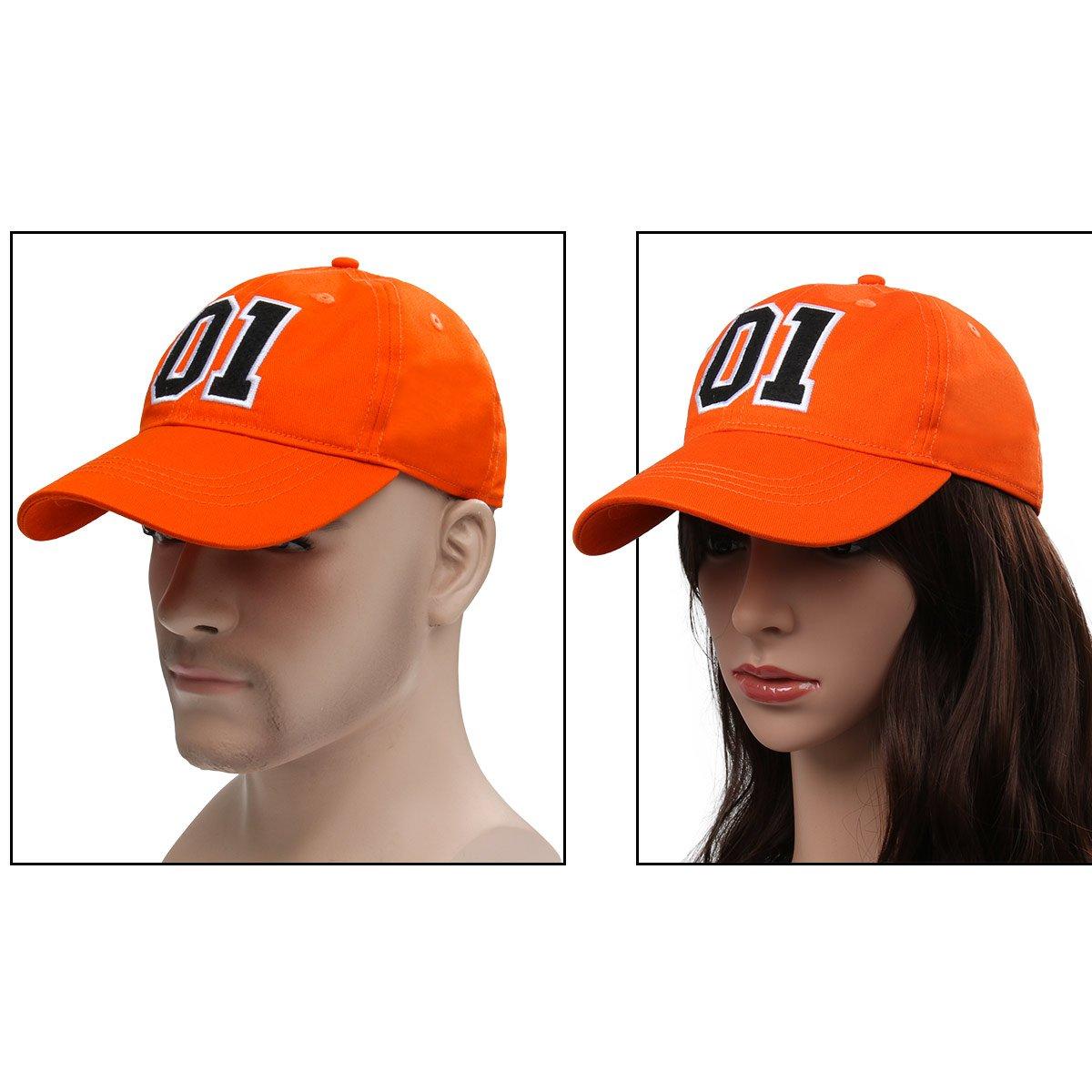 Costume Good OL Boy Cappello in Cotone Hip-Hop Cappelli Unisex Snapback Ricamo Be Nofonda Arancione Berretto da Baseball Cappellino Ricamato Numero 01 General Lee per Donna Uomo Chiusura Regolabile