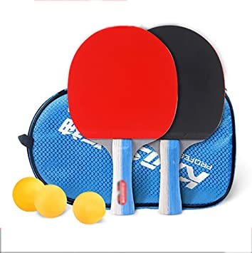 xianw Ping Pong Padel - Raqueta de Tenis de Mesa Pro Premium 2,Raquetas y