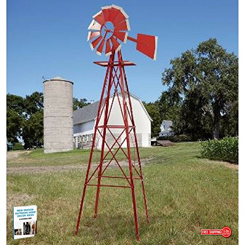 Ornamental Windmill For Every Garden Shows Where The Wind...