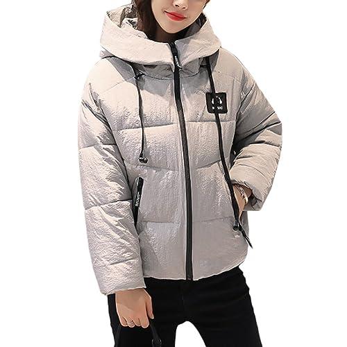 Zhhaijq Caliente para el invierno Fashionable Down Jackets Women Short Paragraph Thick Slim hooded C...