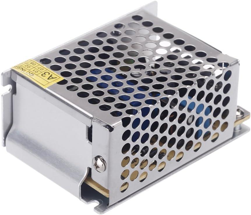Lixada Fuente de Alimentación de Adaptador para Tiras de LED 25W AC 100V~240V a DC 5V 5A