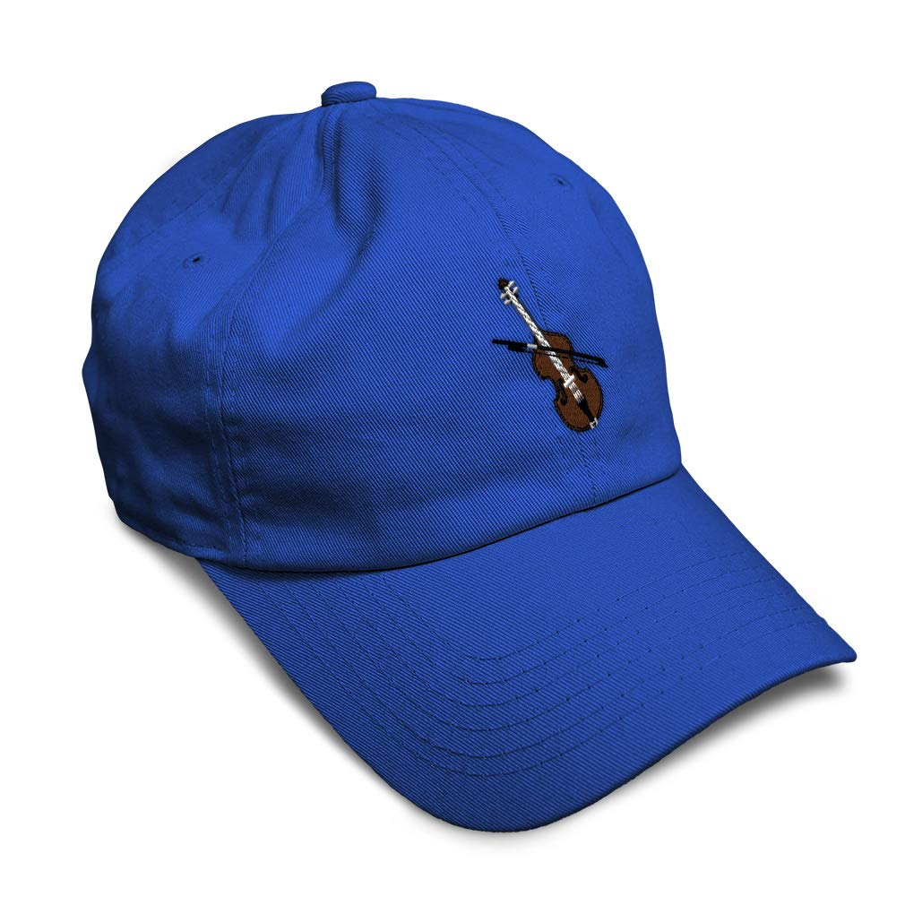 Custom Soft Baseball Cap Violin Style A Embroidery Dad Hats for Men /& Women
