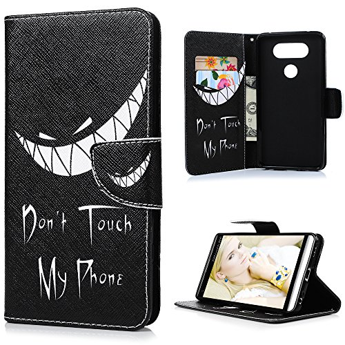 """LG V20 Case (5.7"""") KASOS Colored Drawing Beautiful Art Pattern Slogan Ideas Magnetic Front Closure Durable Leather Wallet Case with Soft TPU Inner KickStand Feature Card Holders Cover Case"""