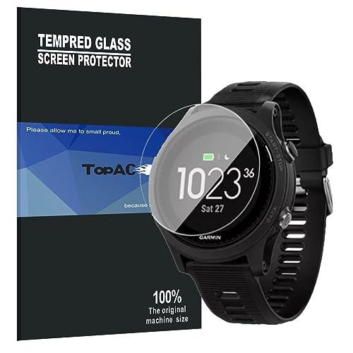 TopACE® 9H Tempered Glass Film Protection Écran en Verre Trempé Garmin Forerunner 935 (3 x Protèges-Écran)
