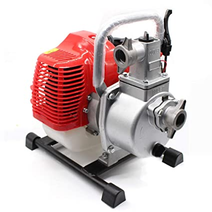 Amazon 17HP 2 Stroke Engine Gasoline Powered Water Pump Power Equipment Home Improvement