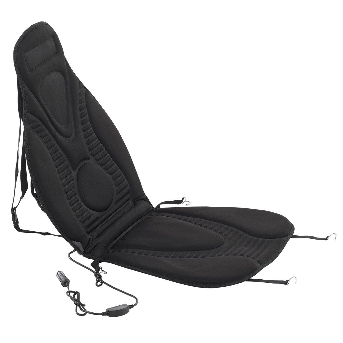 2er-Set Dino 130047 Beheizbare Sitzauflage mit 2 Heizstufen