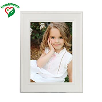 Amazon.com - Cheap 10x12 Inch Cool Picture Frames, White Photo Frame ...
